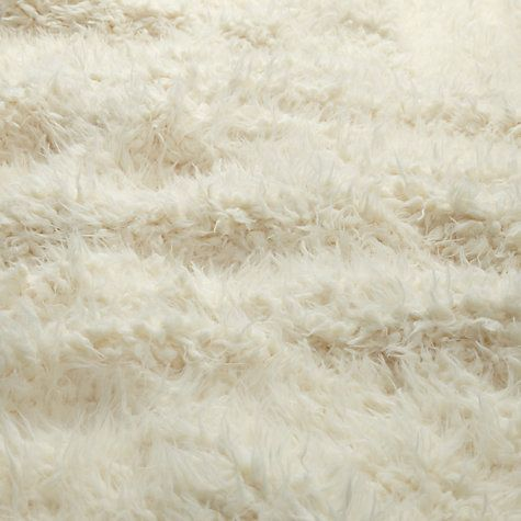 John Lewis Faux Shearling Woolly Throw Online At