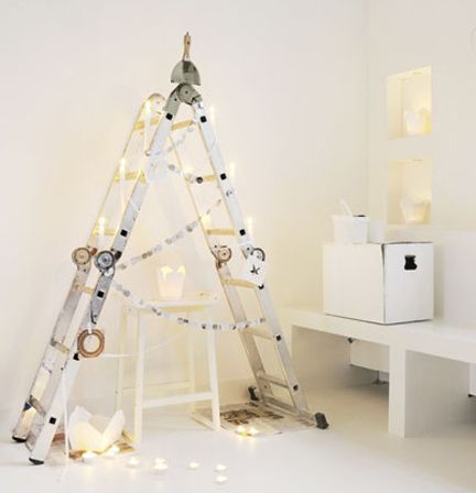 Lovely DIY Christmas Tree For Prop (baby Under It)