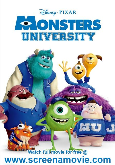 monster inc university full movie free