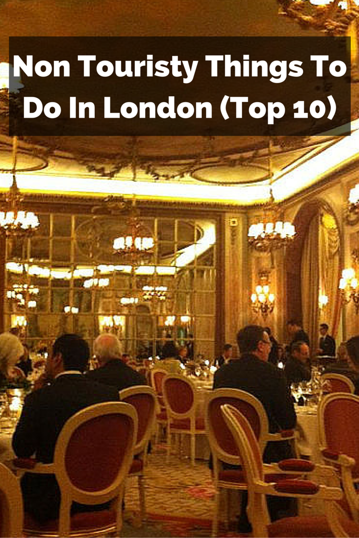So you've seen Buckingham Palace, fed the pigeons in Trafalgar Square and viewed Big Ben from 14 different angles.   But rather than go to the next thing on every Londoner's list (Tower Of London? London Eye?) you want something a little less mainstream.  So, just for you here's our list of the very best non touristy things to do in London.