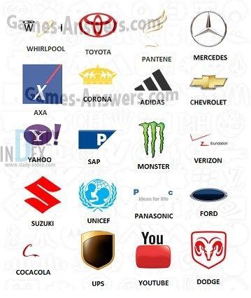 Logo Quiz Megoldasok Answers 2 Szint Level 2 Logo Quiz