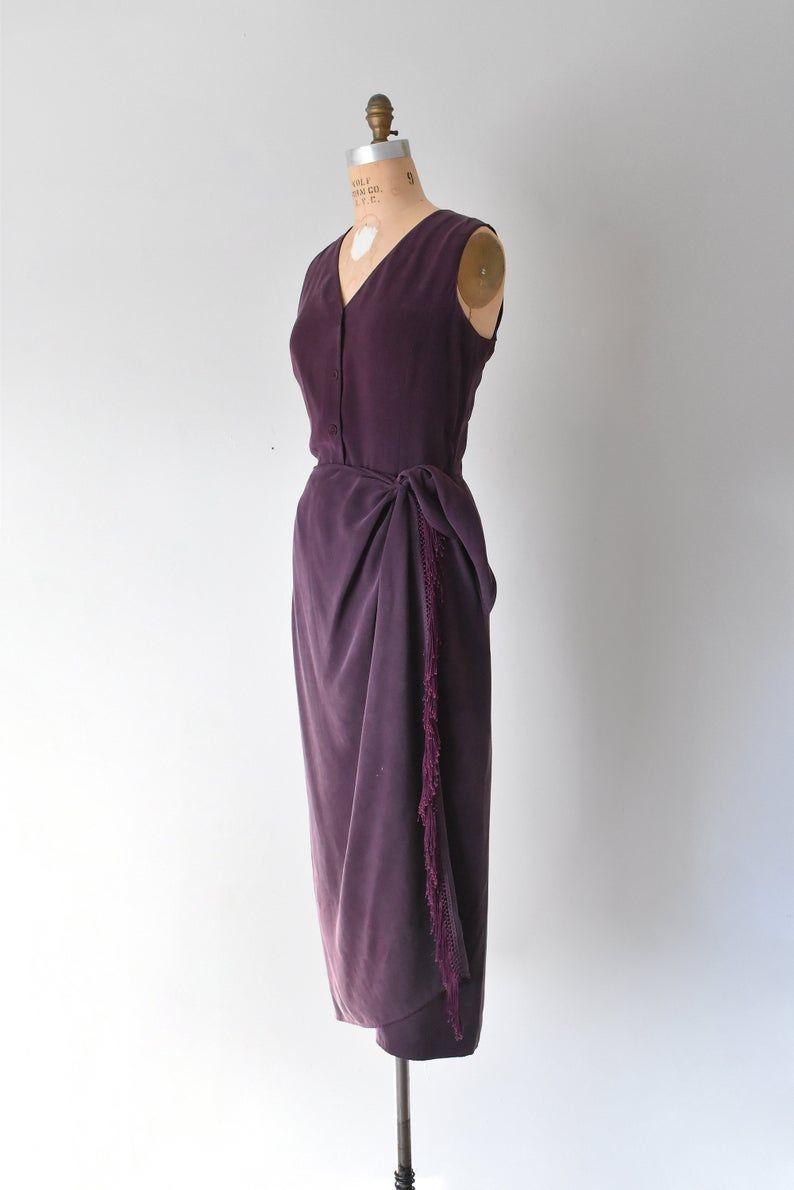 Ungaro Plum Silk Wrap Dress Purple Silk Dress Maxi Dresses Etsy Silk Wrap Dresses Purple Silk Dress Wrap Dress [ 1190 x 794 Pixel ]