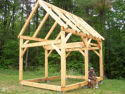 Pete and gretel arquitectura contempor nea pinterest for Post and beam shed plans
