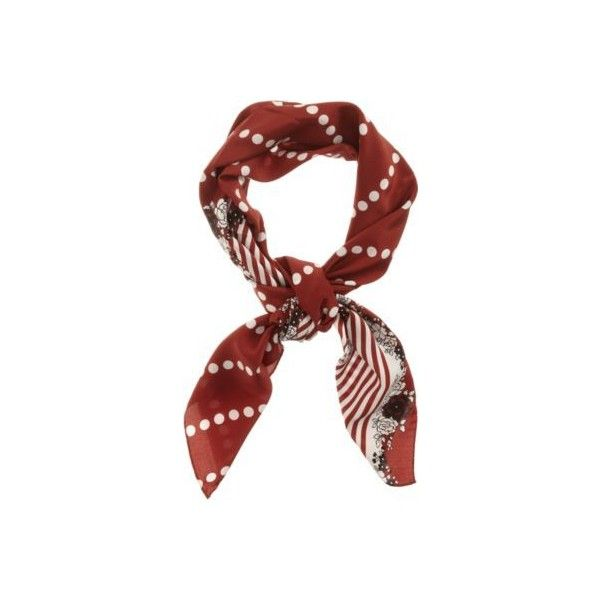 5. Neck Scarf ❤ liked on Polyvore featuring accessories, scarves, silk scarves, print scarves, patterned scarves and silk shawl