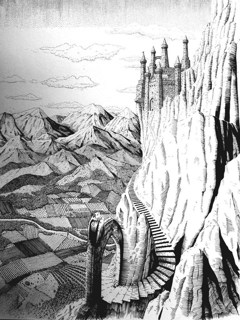 The Eyrie By Andrew Kurz Game Of Thrones Art Game Of Thrones