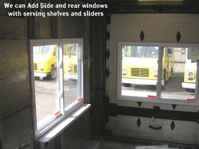 ice cream shop serving windows | We cut and fit sliding