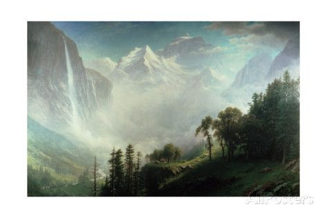 Majesty of the Mountains reproduction procédé giclée par Albert Bierstadt sur AllPosters.fr