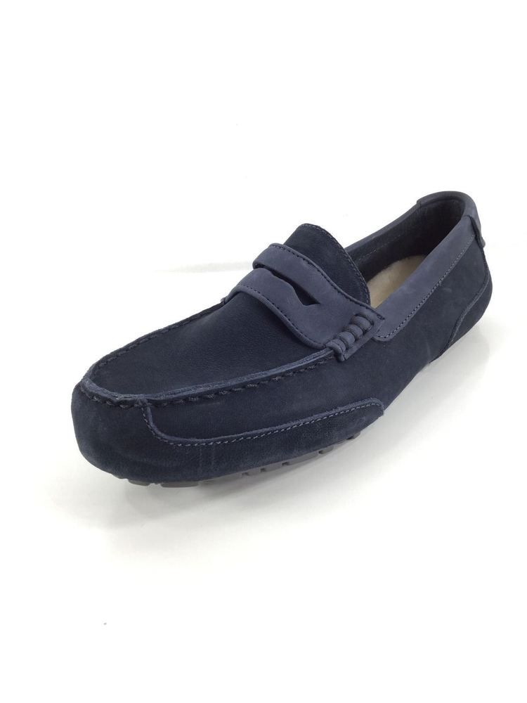 80ce67b2102 U50 NEW UGG AUSTRALIA TUCKER BLUE LEATHER DRIVER LOAFER MEN SIZE 11   fashion  clothing  shoes  accessories  mensshoes  casualshoes (ebay link)