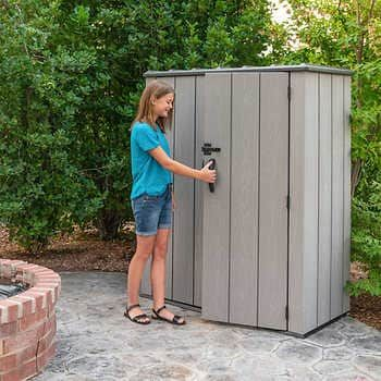 Crestwood 14 X 8 Wood Storage Shed Outdoor Storage