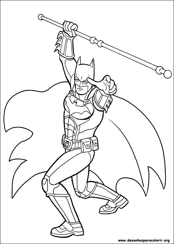 Batman Coloring Pages Free Full Size To Print