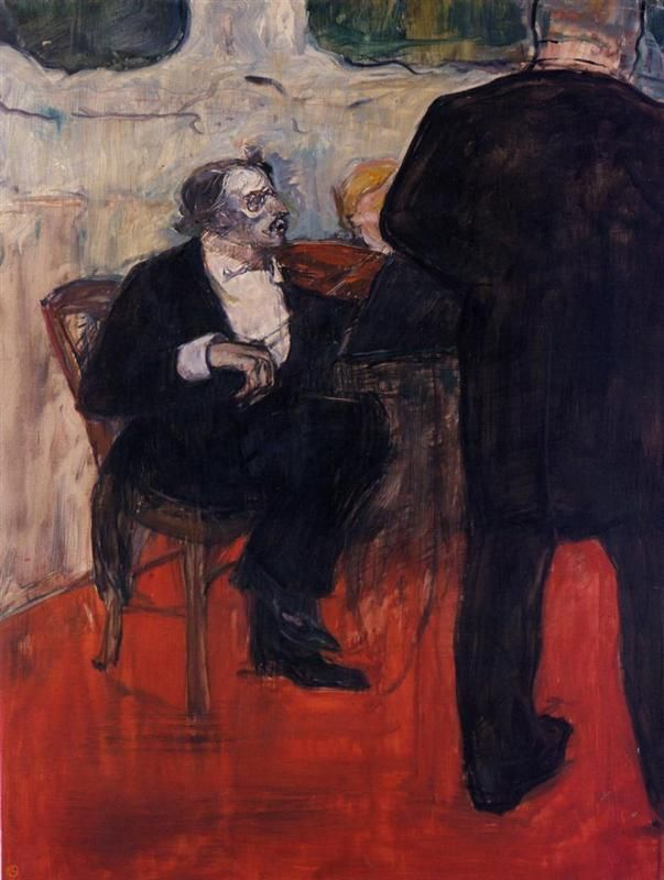 Henri de Toulouse-Lautrec - The Violinist Dancia, 1900