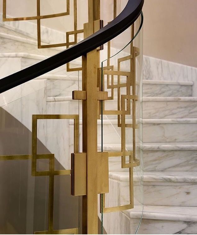 Épinglé par PakiNasr sur hall way | Escalier en marbre ...