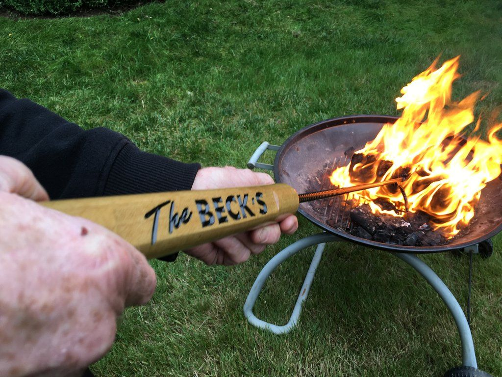Personalized Outdoor Fire Pit Poker - Personalized Outdoor Fire Pit Poker Camper's Choice Pinterest