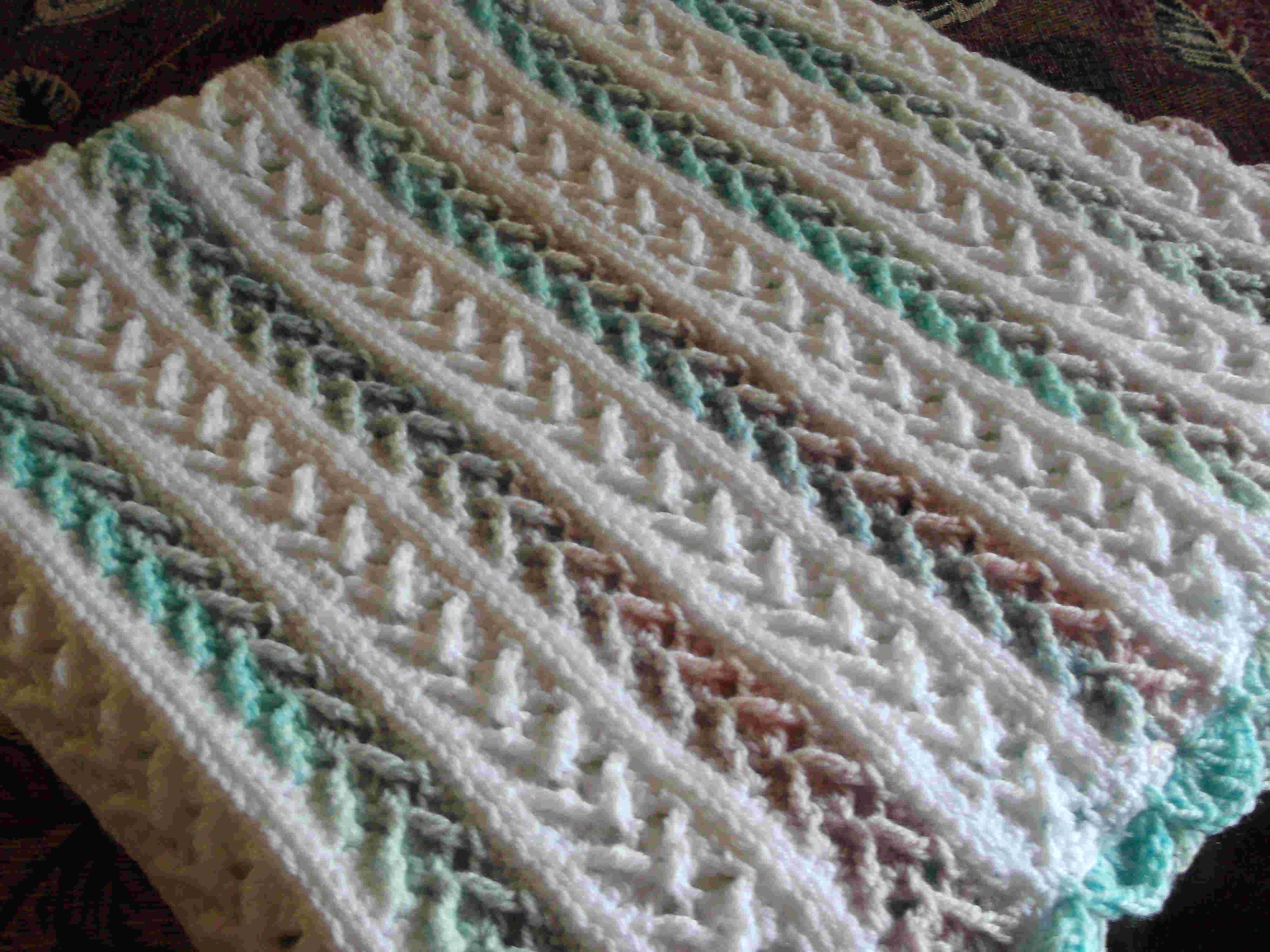 Arrow Stitch Crochet Afghan | Afghans | Pinterest | Ganchillos ...