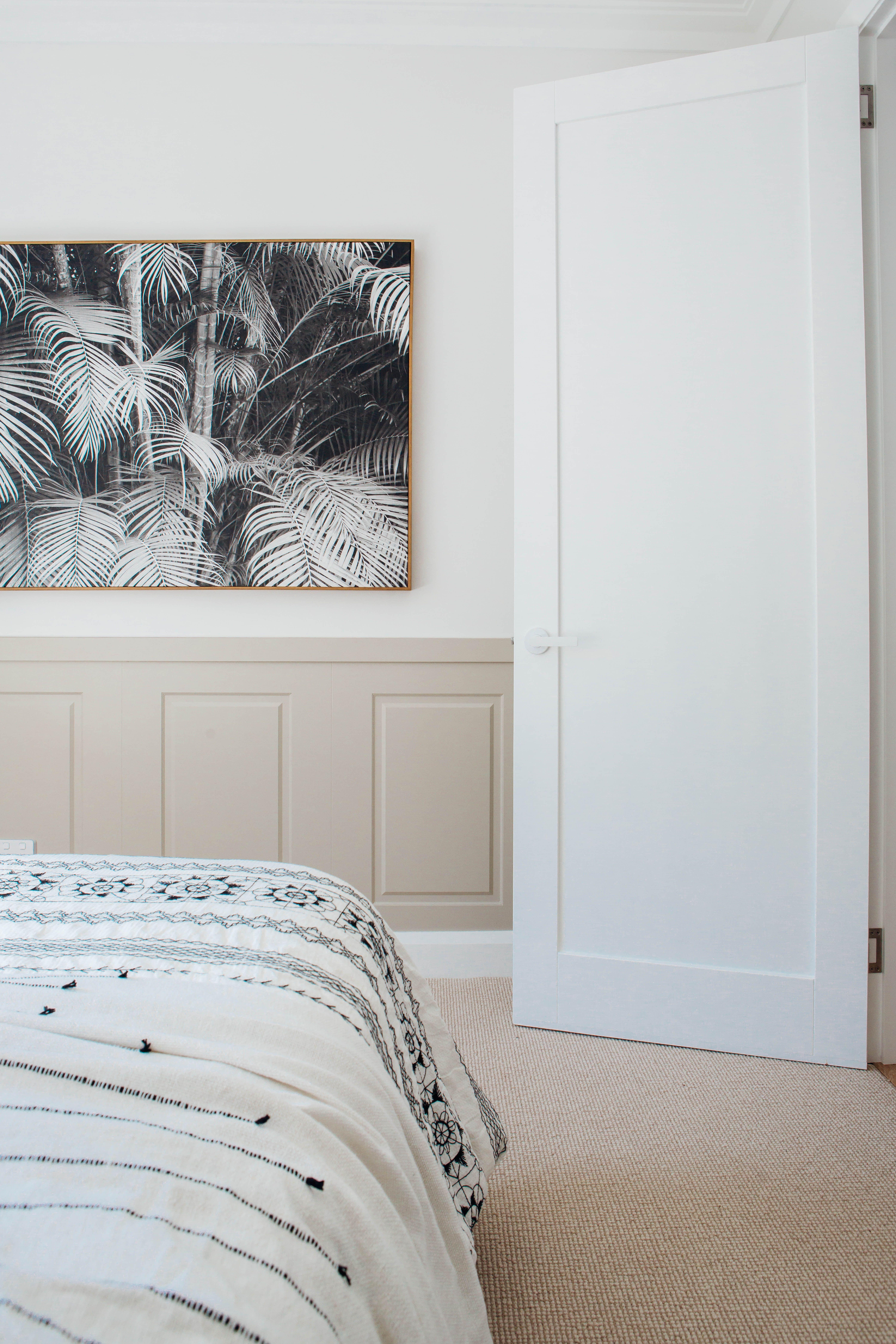 Best Long Jetty Renovation Third Bedroom Reveal White Carpet Bedroom Bedroom Carpet Hallway 640 x 480