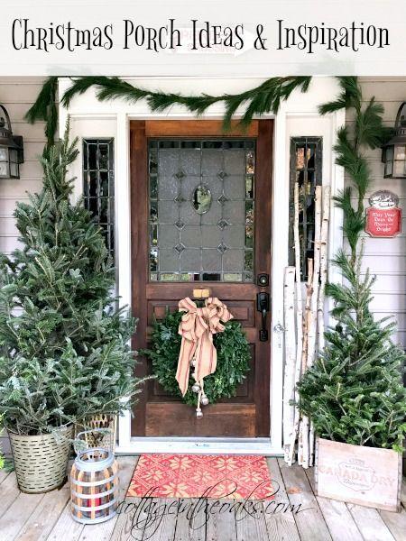 Cottage Christmas Front Porch Ideas Christmas Porch Cottage