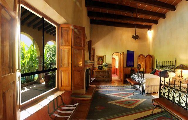 Hacienda de los santos hoteles boutique de mexicohoteles for Decoracion de casas tipo hacienda