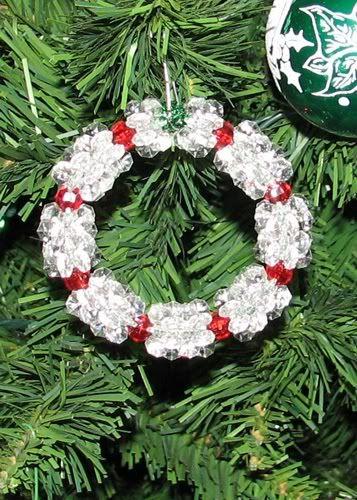 10++ Beaded christmas wreath ornament ideas in 2021