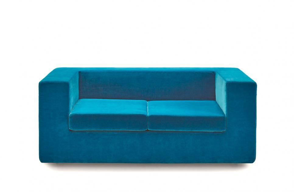 kleine sofas fr kleine rume sofa throw away von zanotta - Kleine Sofas Fur Kleine Raume