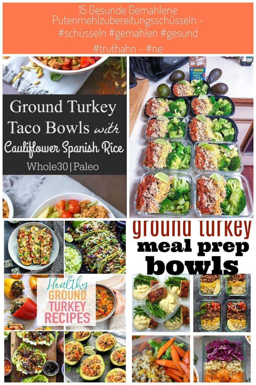 Ground Turkey Taco Bowls with Cauliflower Spanish Rice  Healthy eating  Ground Turkey Taco Bowls with Cauliflower Spanish Rice  Healthy eating  Ground Turkey Taco Bowls w...