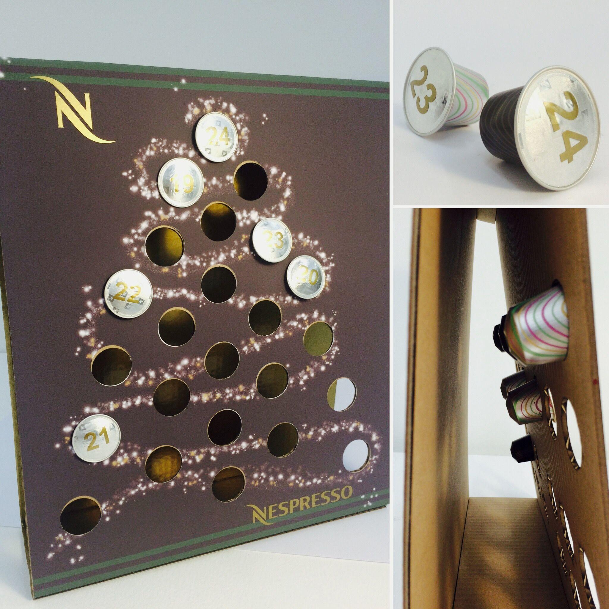 Nespresso Advent Calendar - Designed By Zoe McClatchey for the ...