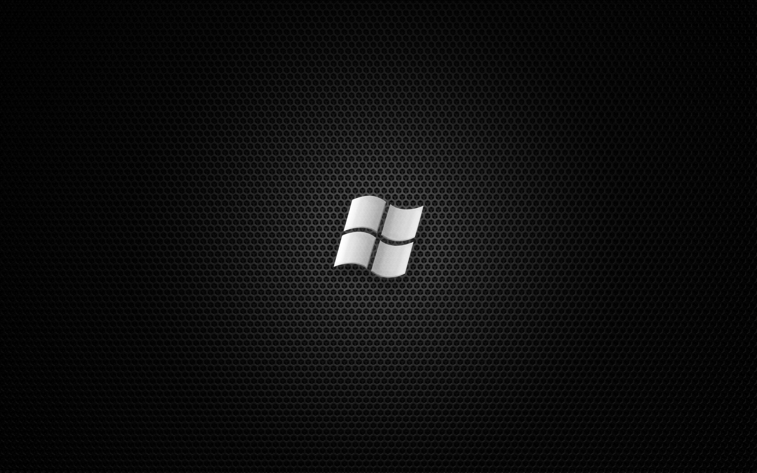 Windows 7 Wallpapers Wallpaper Pc Black Desktop Black Wallpaper