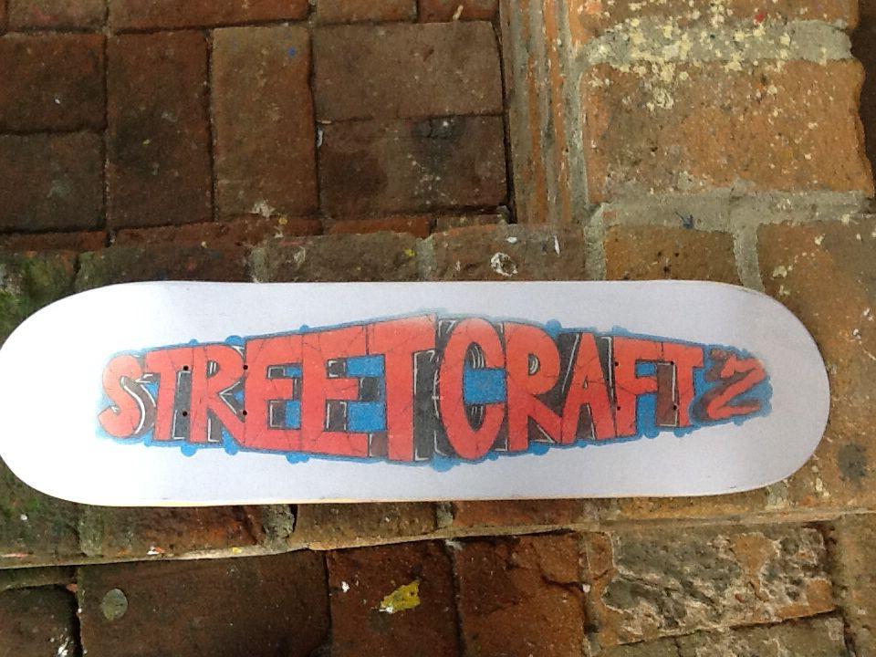 #custom #streetcraftla skateboard!