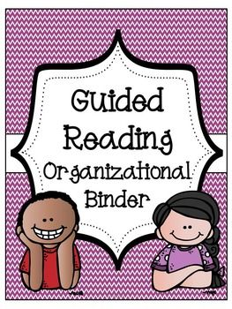 Guided Reading Binder – Reading Rotations and Literacy Workstation Organizati…