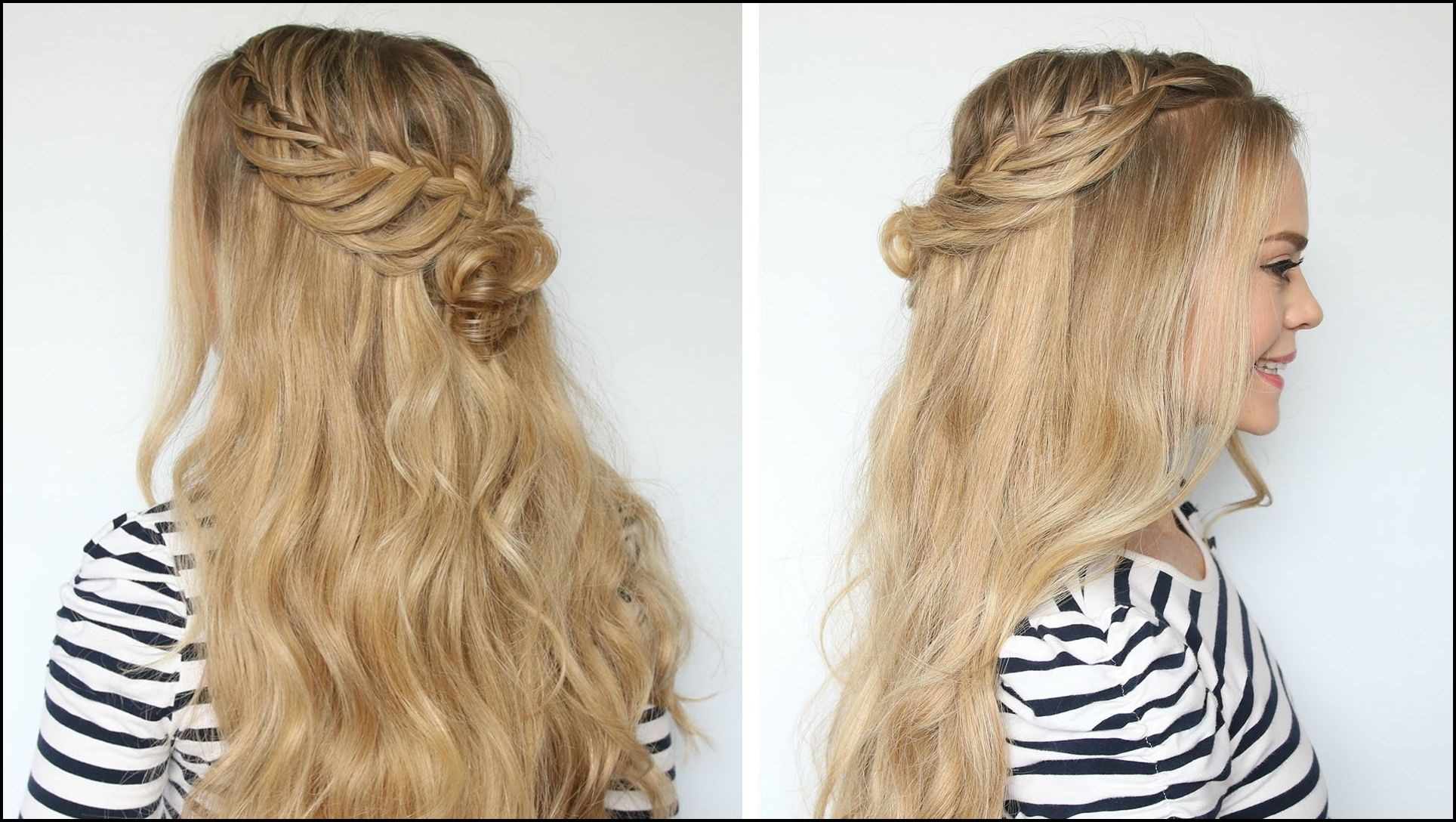 Romantic Prom Hairstyle With Luxy Hair Extensions Missy Sue