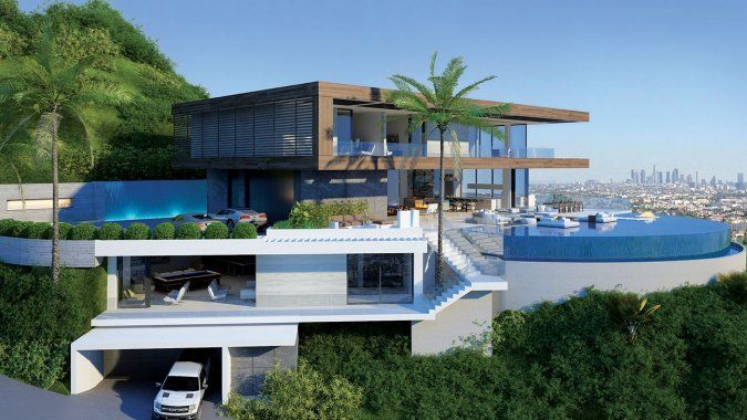 Los Angeles Real Estate 3 Booming Areas Luxury Homes Dream Houses Dream House Exterior Beverly Hills Houses