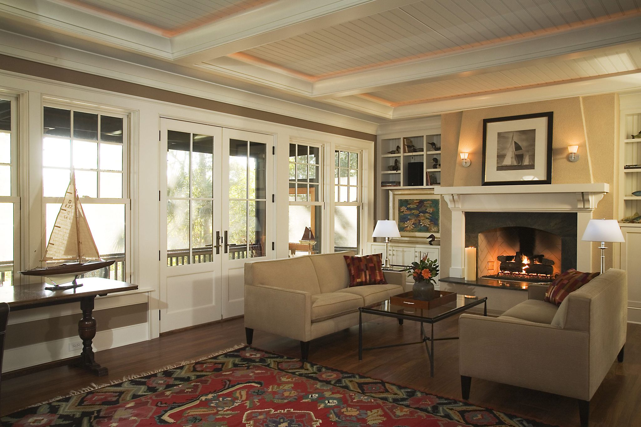 House window wall design  kiawah island shingle style u herlong u associates architecture