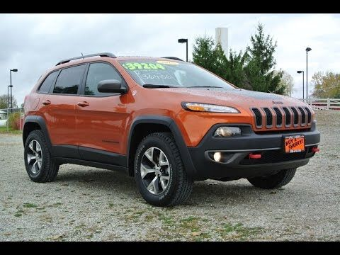 2015 Jeep Cherokee Trailhawk V6 For Sale Dayton Troy Piqua Sidney Ohio 27163t Youtube
