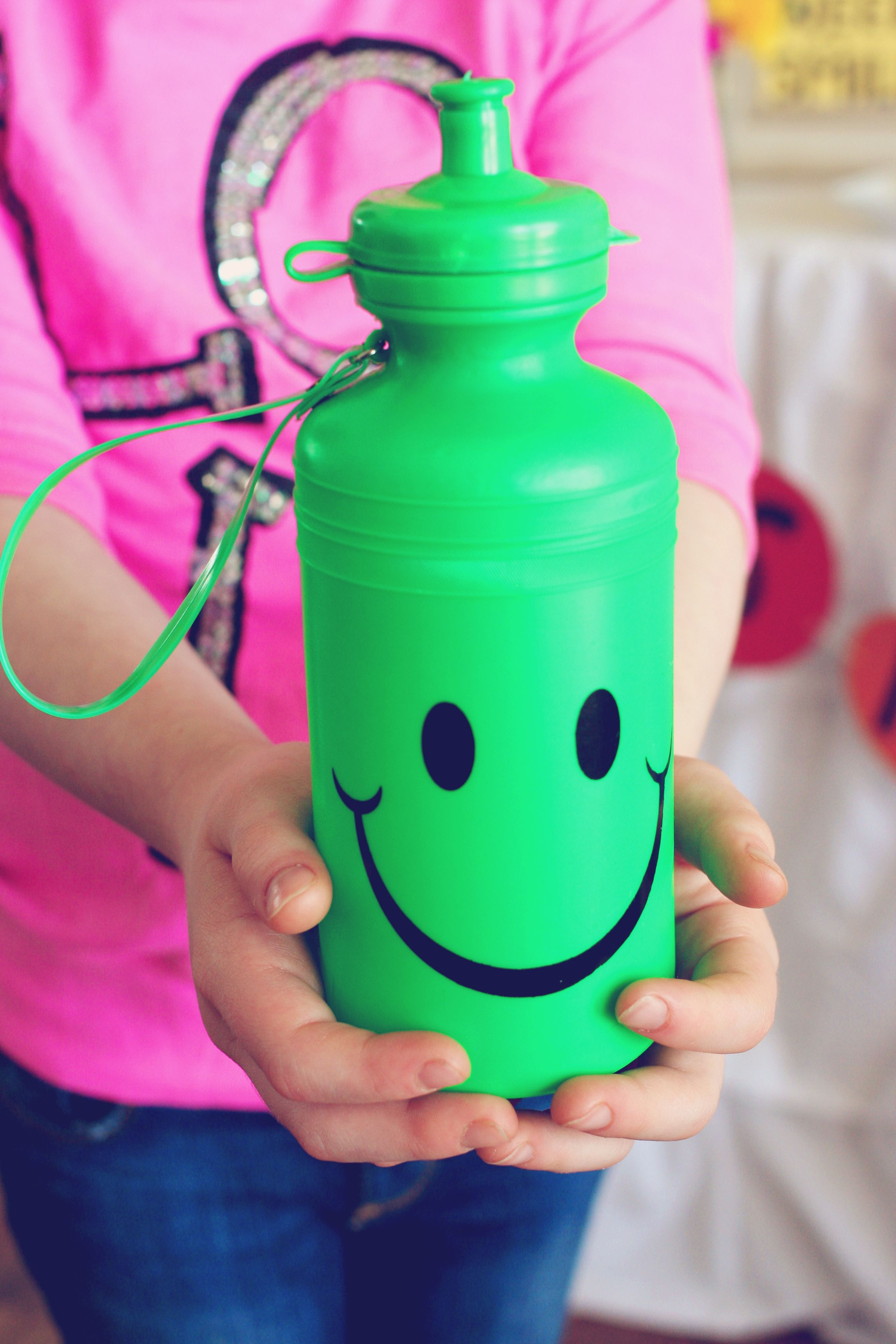 Smiley Face Water Bottles Available At U S Toy Photos