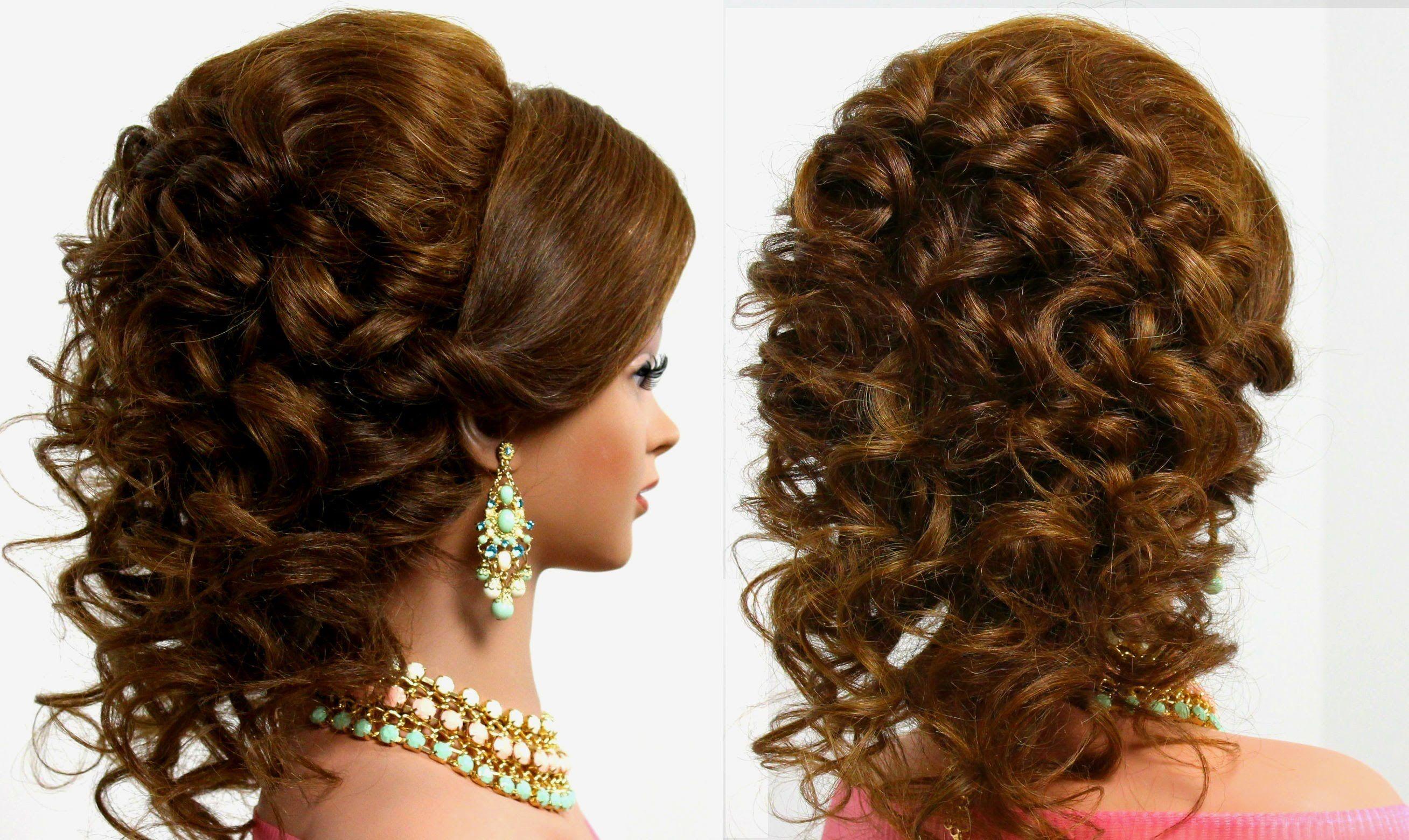 arabic wedding hairstyle for medium long hair | hairs