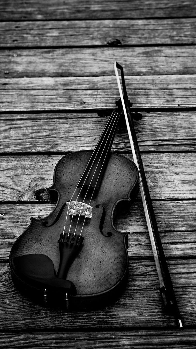 Violin Bw Violin Bow Musical Instrument Wallpaper Backgrounds Cool Music Wallpaper Iphone Wallpaper Music Violin