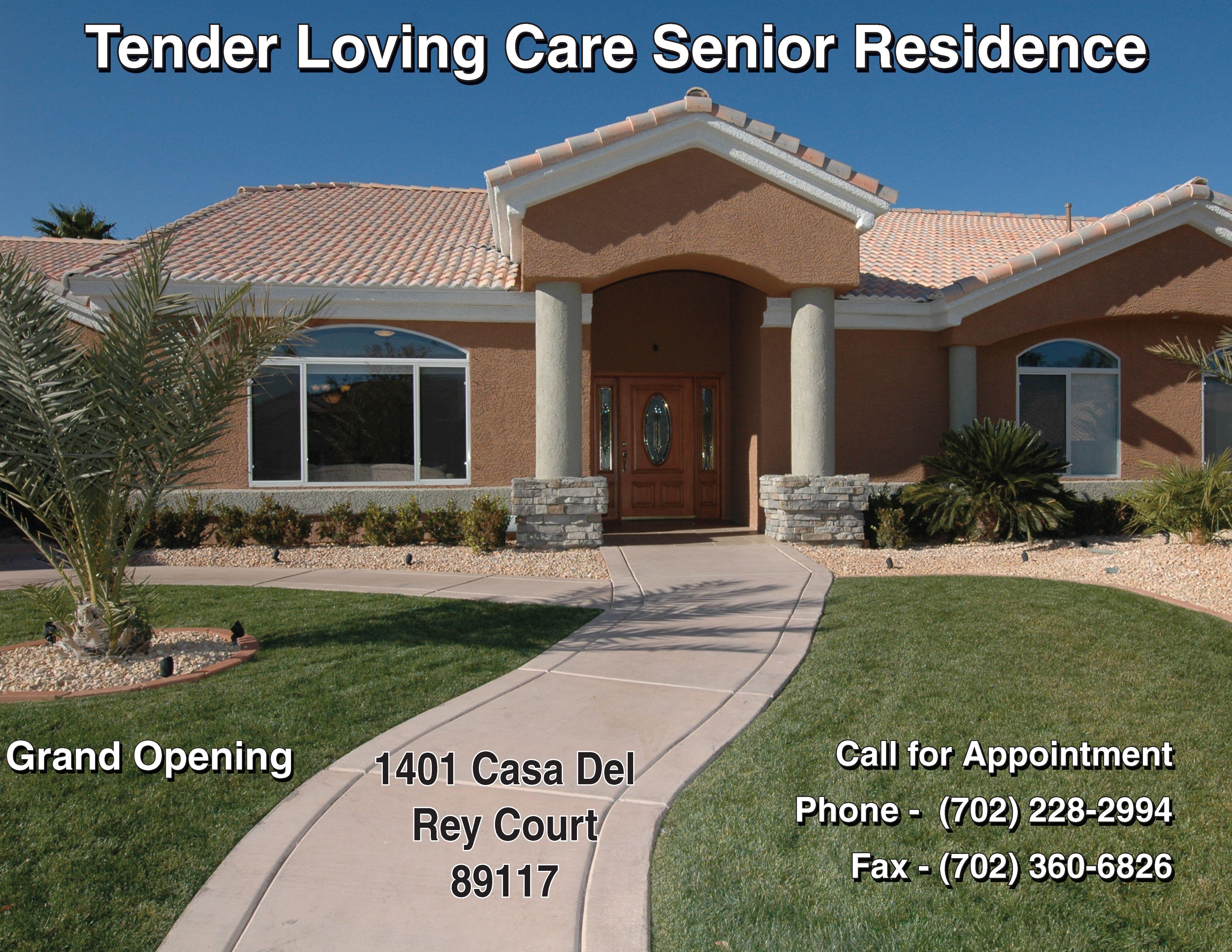 Tender loving care senior residence good example of