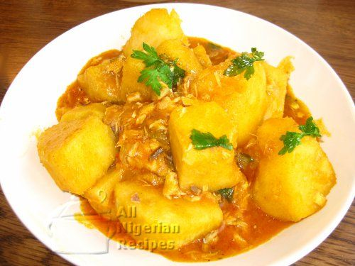 Yam Porridge Is The Choice Yam Recipe If You Like Your Yam