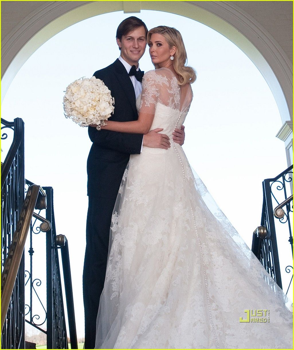 Ivanka Trump Wedding Dress Princess Wedding Day