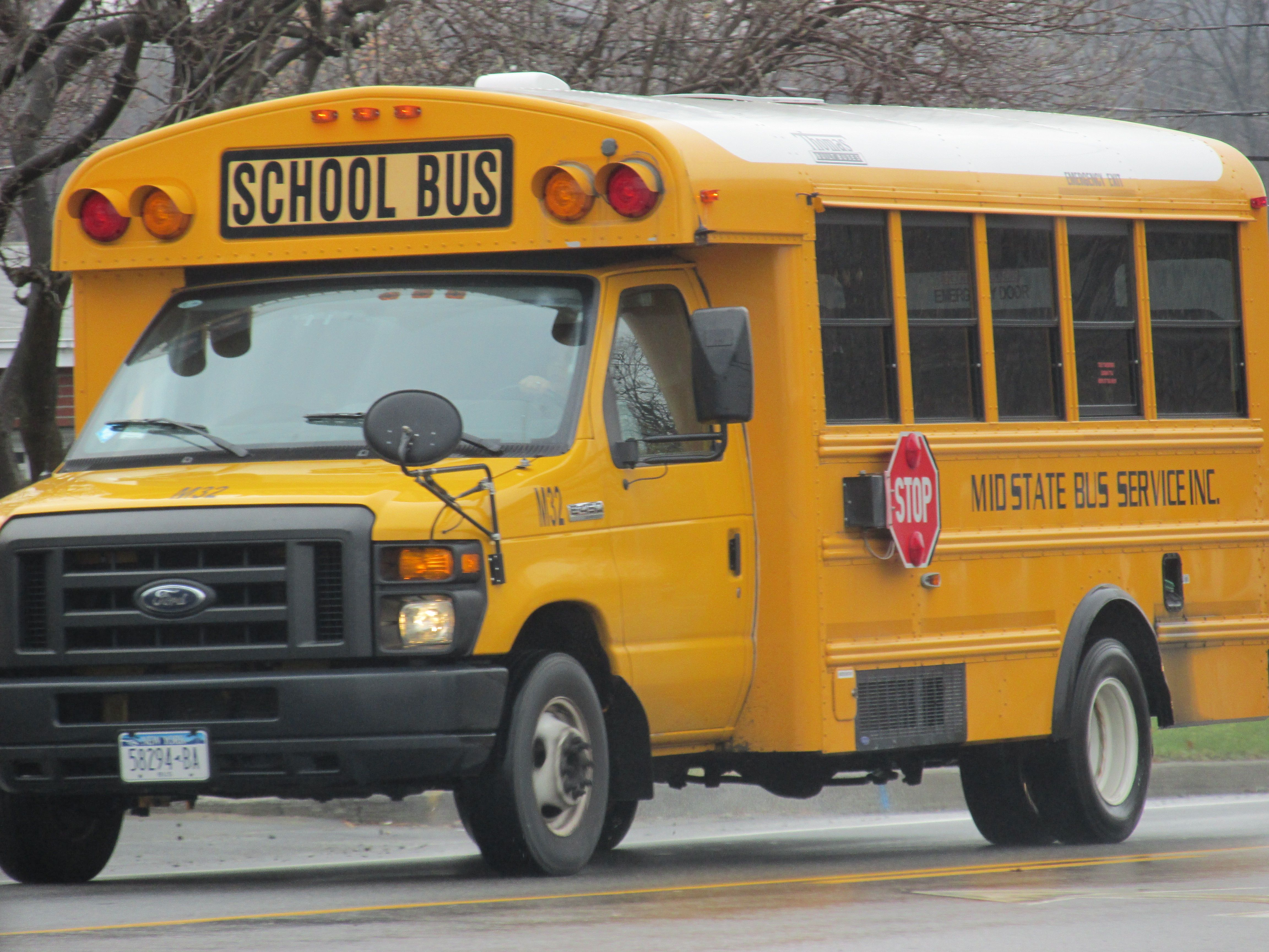 Aurora Public School Bus Involved In Crash In Watkins