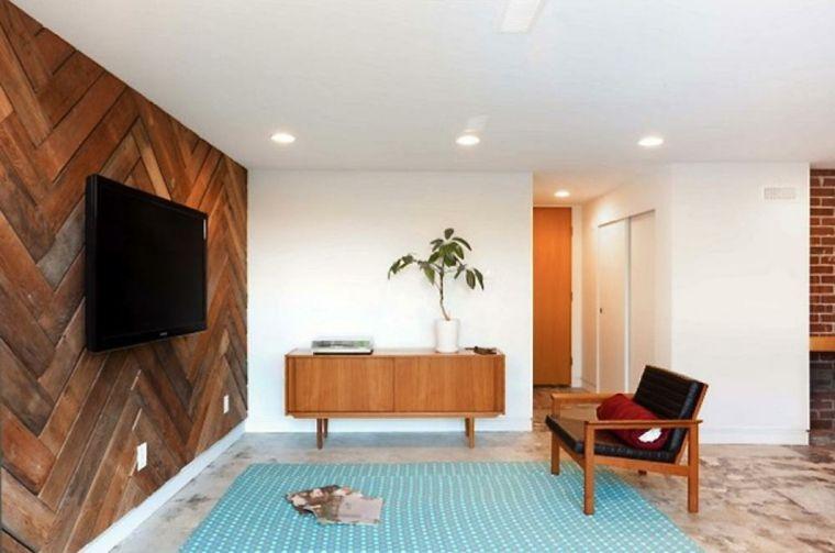 Revestimiento de paredes interiores con madera - 34 ideas ...
