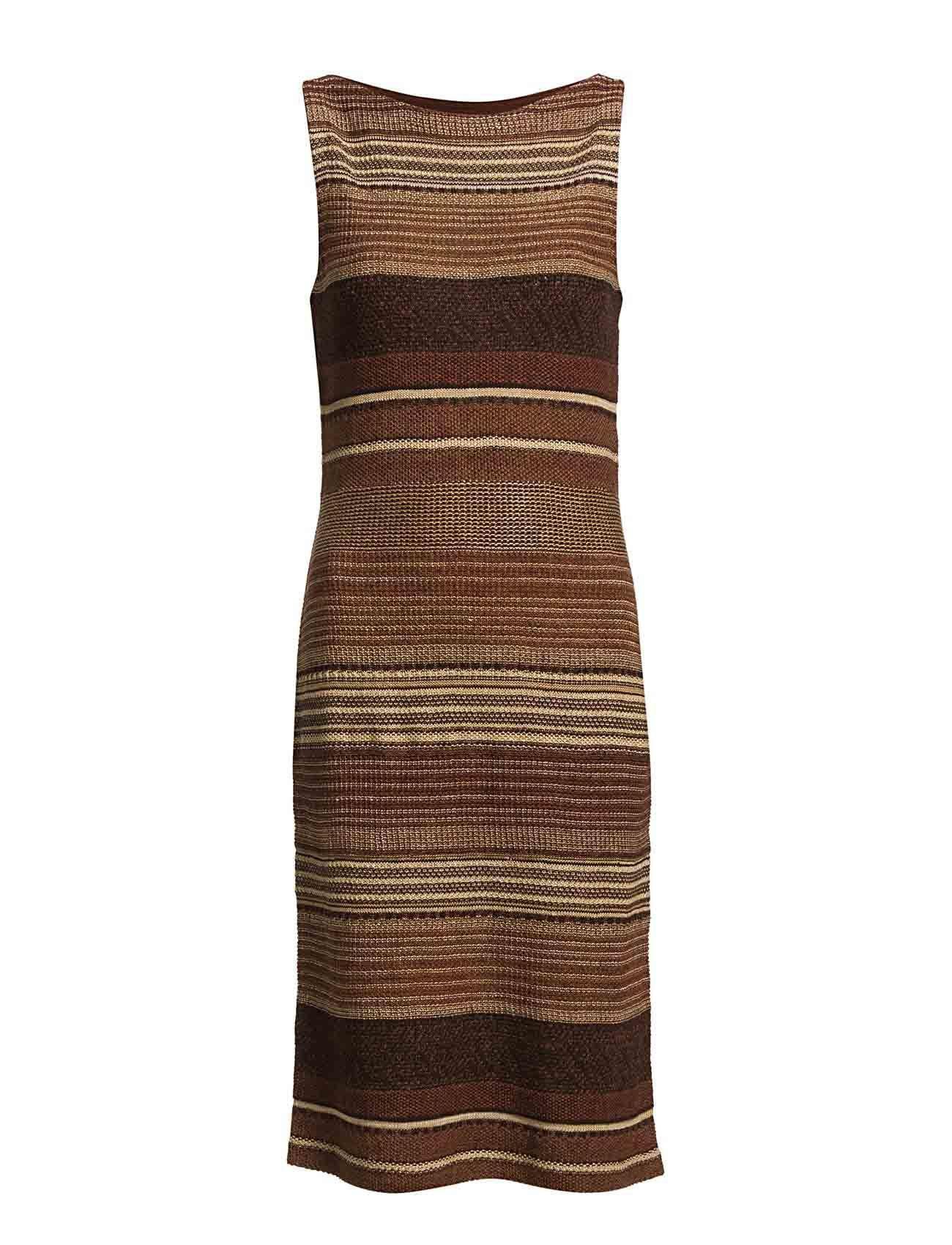Lauren Ralph Lauren - SALVADORA SL BOATNECK DRESS