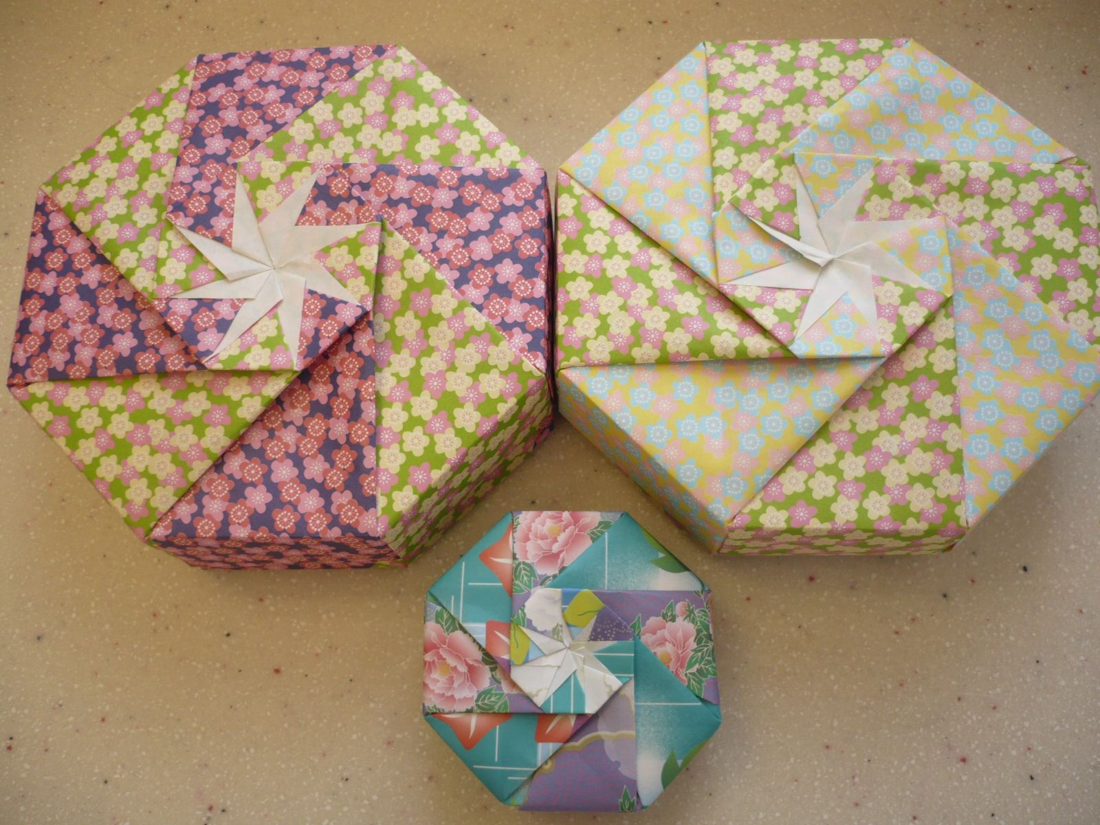 medium resolution of origami maniacs origami octagon double box by tomoko fuse