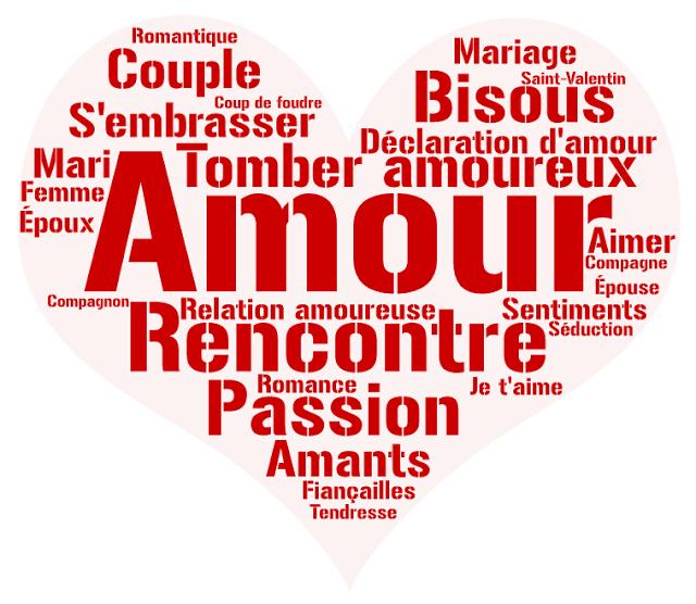 Vocabulaire Lamour Fle Le Fle En Un Clic Papiers