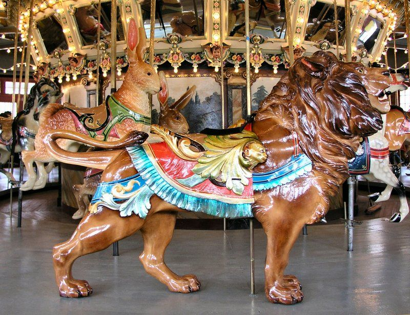 1921 Dentzel Carousel: Glen Echo, Maryland - Take a Spin on the Most Beautiful, Hand-Crafted Carousels in the Nation | Travel | Smithsonian