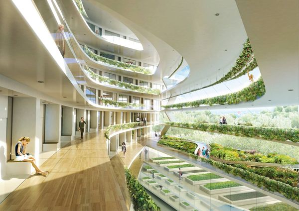 Green School Stockholm   Selected For Leaf Award 2012   Short List    Stockholm, Sweden   2012   Architects   Green Design   Air Purifying