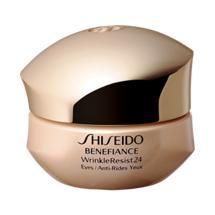 Shiseido Benefiance WrinkleResist24 Intensive Eye Contour Cream. Good stuff... next to try the dark circle cream...