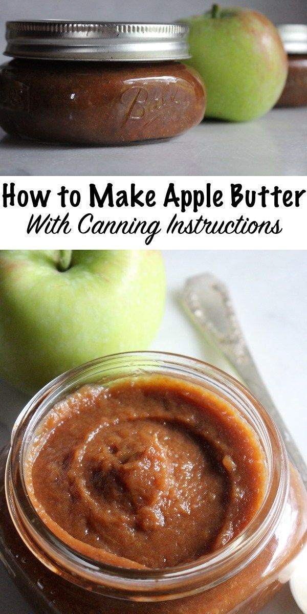 How to Make Apple Butter (with Canning Instructions)
