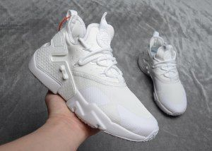 best service 6bb19 5e8a6 Mens Womens Nike Air Huarache Drift Premium White Pure Platinum AO1133 100 Running  Shoes