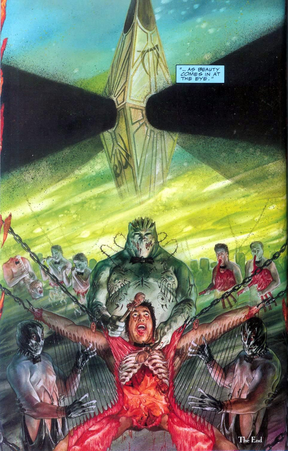Clive Barker's Hellraiser Issue 3 Retro Review Art