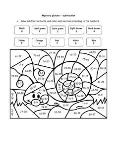 super teacher worksheets math puzzle picture | Happy Snail ...